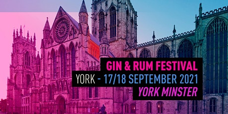 The Gin & Rum Festival - York - 2021 tickets