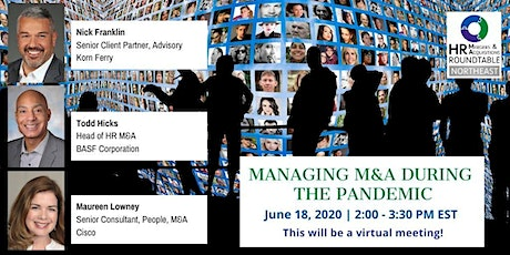 Managing M&A During This Pandemic tickets