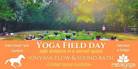 Outdoor Yoga Class & Gong Bath tickets