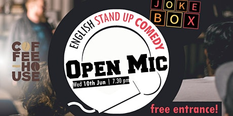 ENG Stand Up Comedy | Open Mic Tickets