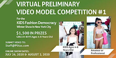 KIDS 4-8 YEARS OLD - LIVE VIRTUAL MODEL AUDITION CASTING CALL tickets