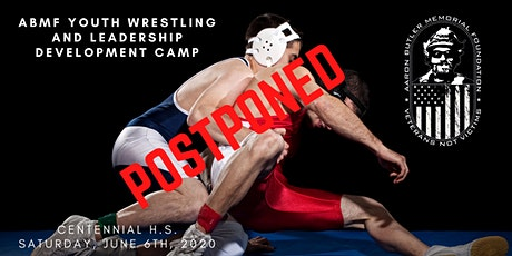 POSTPONED ABMF Youth Wrestling and Leadership Development Camp tickets