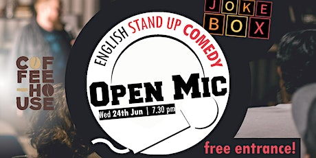 ENG Stand Up Comedy   Open Mic Tickets