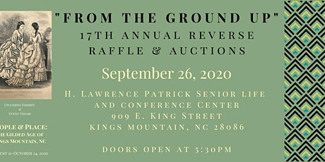 From The Ground Up: 17th Annual Reverse Raffle & Auctions tickets