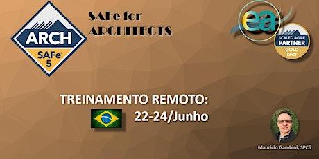 Curso remoto SAFe® ARCH p/ Arquitetos  com  exame para certificação bilhetes