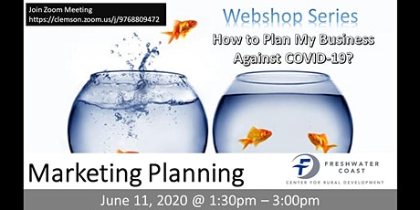 MARKETING PLANNING IN DIFFICULT TIMES - FREE ONLINE WORKSHOP tickets