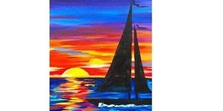 Sunset Sailing Paint Night For All Ages, Only 15 Spots  $30 tickets