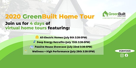 GreenBuilt Home Series: All-Electric Homes bilhetes
