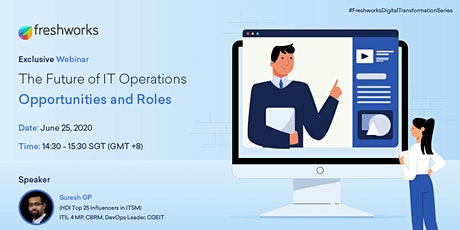 [FREE WEBINAR] The Future of IT Operations - Opportunities and Roles tickets