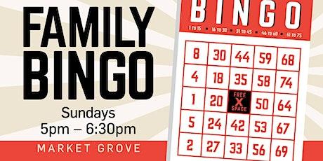 Family Bingo tickets