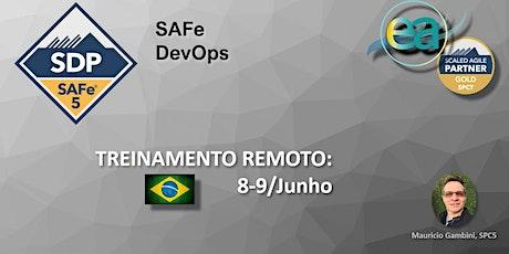 Curso remoto SAFe® DSP(DevOps) com  exame para certificação ingressos