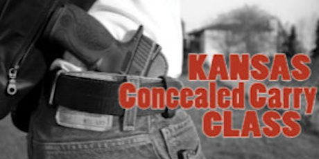 Kansas Concealed Carry Handgun Class tickets
