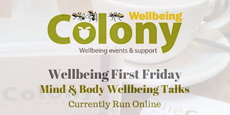 Colony Wellbeing First Friday - Posture - June 2020 tickets