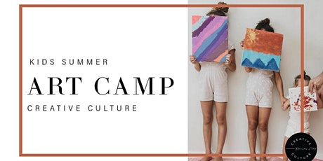 Kid Summer Art Camp   Ages 5-9 tickets