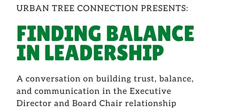 Leading Together:  Board Chair + Executive Director Roundtable tickets
