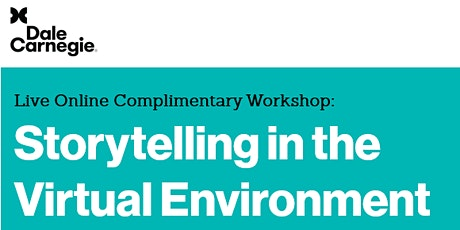 Live Online Complimentary Workshop: Storytelling in the Virtual Environment tickets