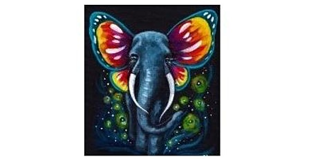 Butterfly  Elephant Paint Night For All Ages, Only 15 Spots $20 tickets