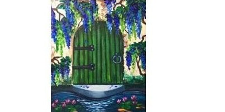 Garden Door Paint Night  For All  Ages, Only 15 Spots $20 tickets