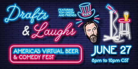 Drafts and Laughs Chicagoland+ Virtual Beer and Comedy Fest tickets