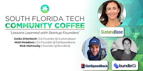 Community Coffee☕| 'Lessons Learned with Startup Founders' tickets
