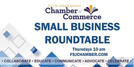 FSJ Chamber Small Business Roundtable tickets