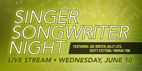 LIVE STREAM: Singer/Songwriter Night tickets