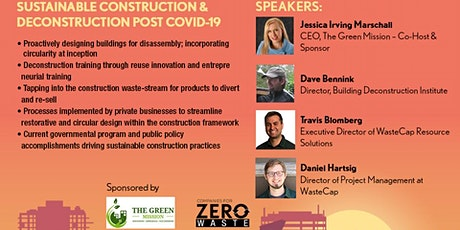 Sustainable Construction tickets