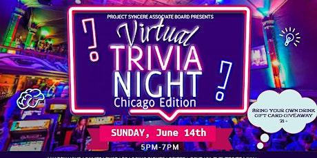 Project SYNCERE Associate Board Presents: Virtual Trivia Night boletos