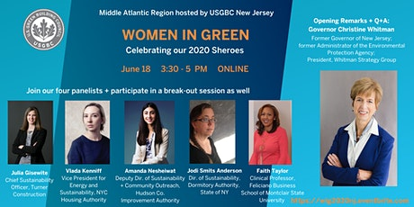 USGBC Middle Atlantic - Women in Green - hosted by NJ tickets