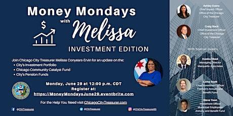 Money Mondays With Melissa - June 29, 2020 tickets