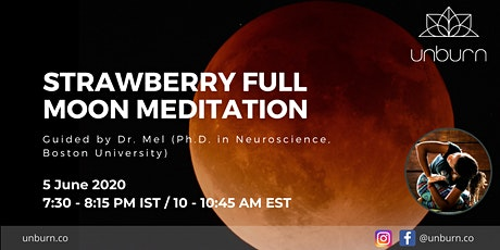 Strawberry Full Moon Meditation tickets