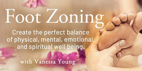 Foot Zoning: Stimulate Balanced Health - In-Store & FB LIVE tickets