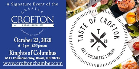 Taste of Crofton 2020 powered by Wegmans tickets