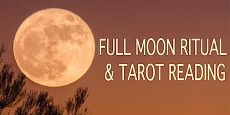 Full Moon Ritual & Tarot Reading tickets