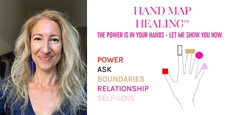 Hand Map Healing™ Workshop: Turn Your Power UP! tickets