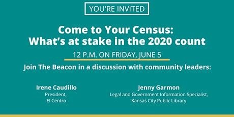 Come to Your Census: What's at stake in the 2020 count tickets