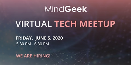 MindGeek Virtual Meetup:  Hiring Software Developers in Romania & Cyprus tickets