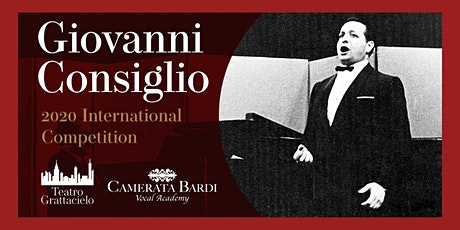 The Giovanni Consiglio International Competition tickets