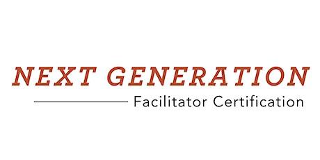 Next Generation Facilitator Certification - July 14-15, 2020 ingressos