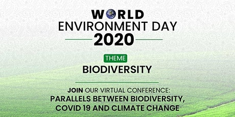 WORLD ENVIRONMENT DAY 2020 - BIODIVERSITY tickets