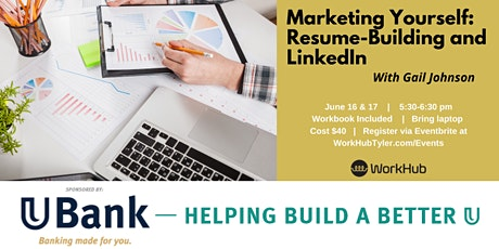 Marketing Yourself: Resume-Building and LinkedIn tickets