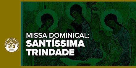 Santa Missa - Solenidade da Santíssima Trindade ingressos