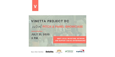 Vinetta DC: 2nd Semi-Final Pitch Competition tickets