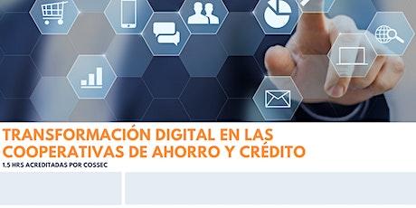 Transformación Digital en las Cooperativas de Ahorro y Crédito entradas