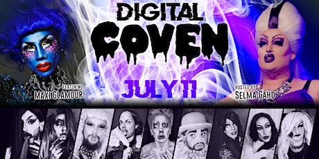Digital COVEN - Drag Show Online ft. Maxi Glamour tickets