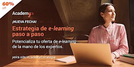 Estrategia de e-learning paso a paso entradas