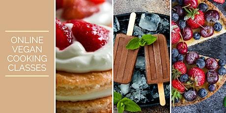 Online Vegan Cooking Classes - Dessert Series tickets