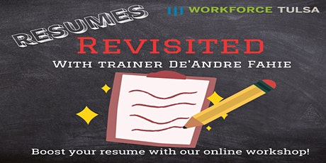 Resumes Revisited Workshop tickets