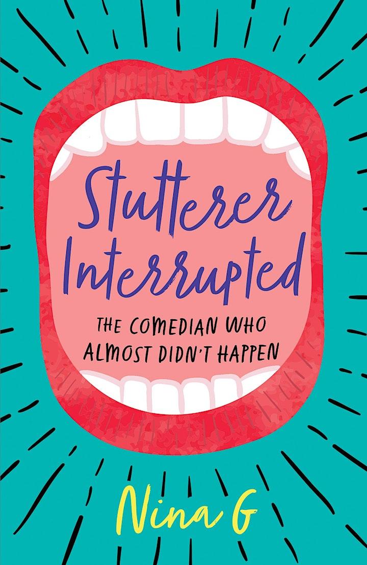 Disability Book Series: Nina G on Stutterer Interrupted image