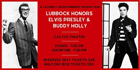 Lubbock Honors Elvis Presley & Buddy Holly tickets